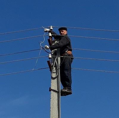Подключение частного дома к электричеству от столба 220-380 при помощи сип кабеля