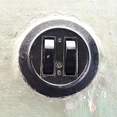 Ремонт внутреннего выключателя в квартире недорого