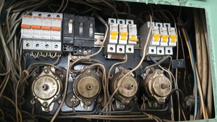 Электрический щиток диагностика замена автоматов