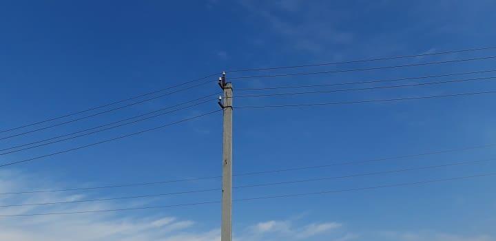 Подключение дома к электрической сети на опоре в Новосибирске